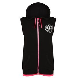 Gold's Gym Muscle Joe Premium Sleeveless Hoodie - Black