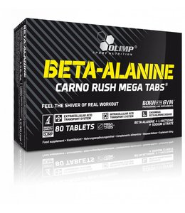 OLIMP NUTRITION Beta-Alanine Carno Rush Mega Tabs