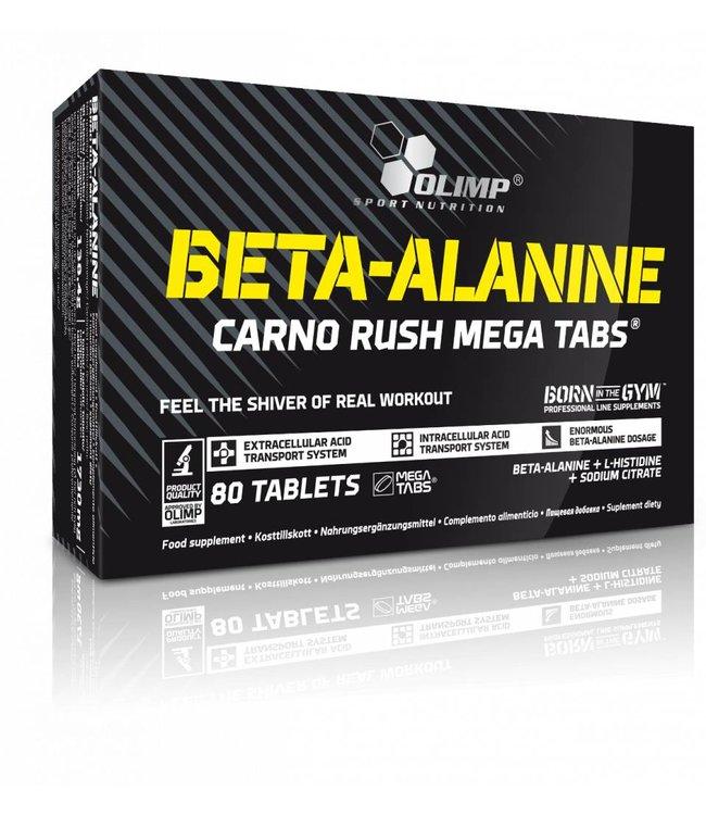 OLIMP NUTRITION Beta-Alanine Carno Rush Mega Tabs