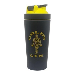 Gold's Gym Stainless Steel Shaker - Black/Gold