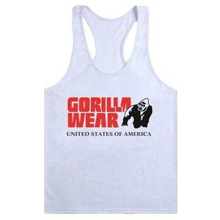 Gorilla Wear Classic Tank Top - White