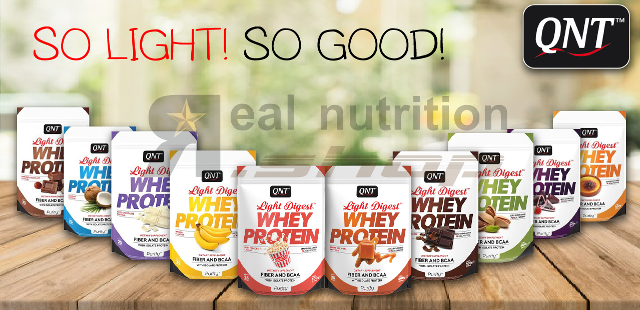 QNT Whey Light Digest - Real Nutrition Shop