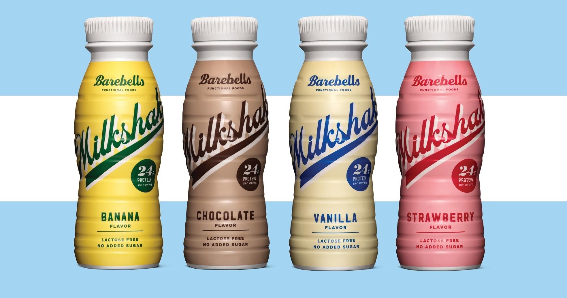 Barebells Eiwit Milkshake Real Nutrition Shop