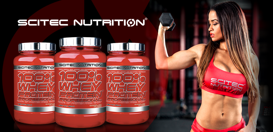 Scitec Whey Professional 100% Real Nutrition Shop
