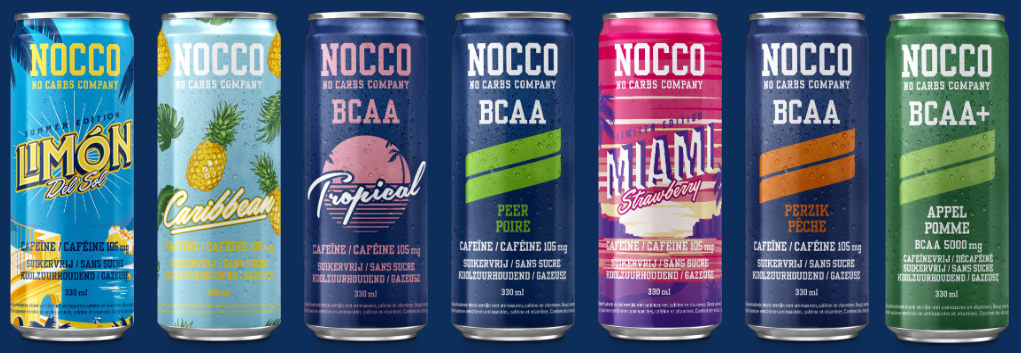 NOCCO banner Real Nutrition