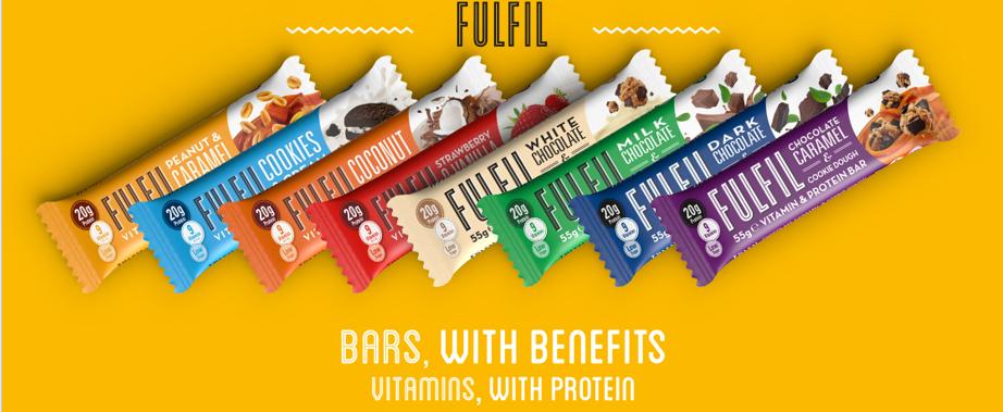 Real Nutrition Shop Fulfil eiwit repen met vitamines