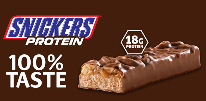 Real Nutrition Shop - Snickers Hi Protein Banner
