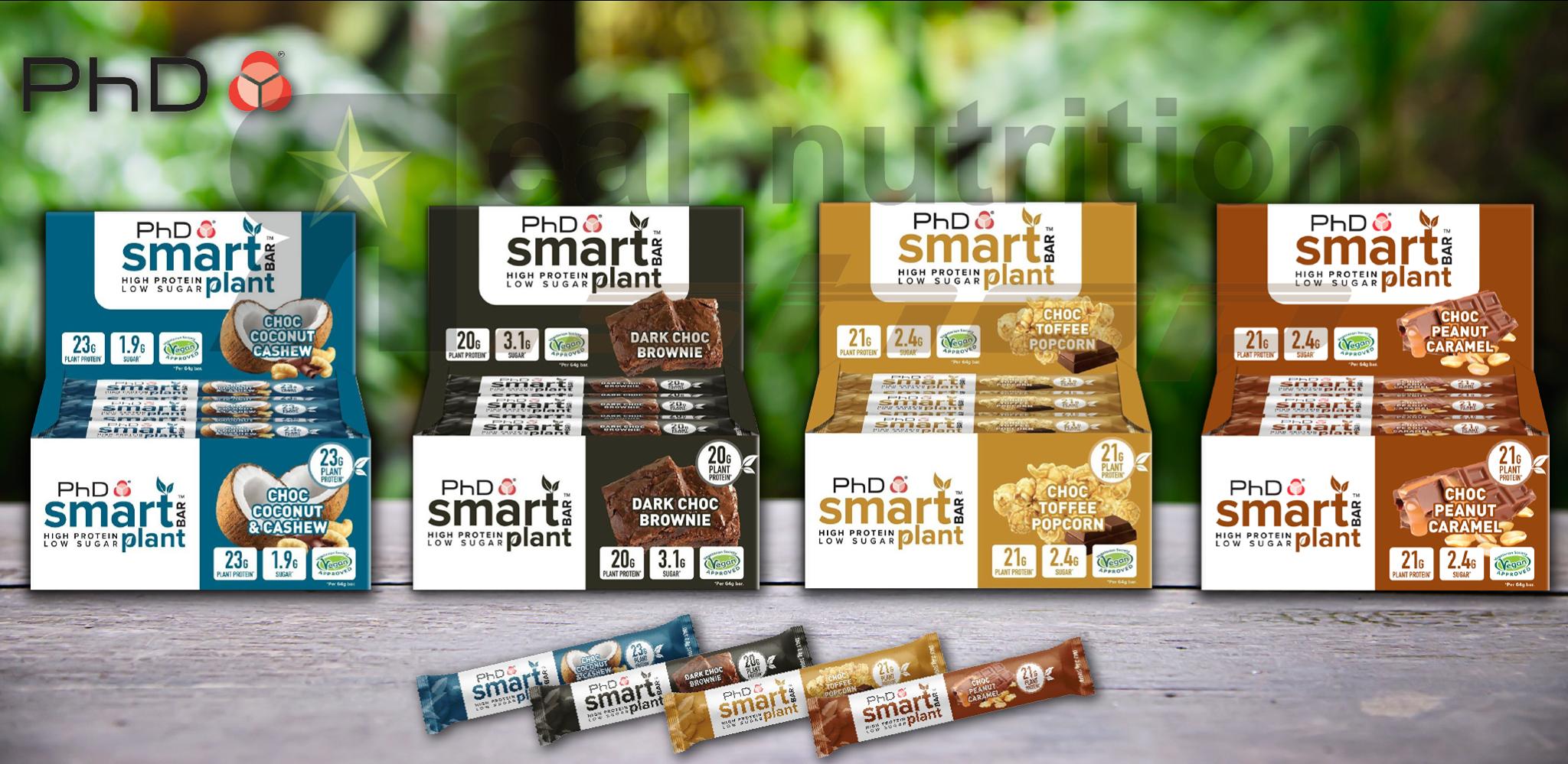 Real Nutrition Shop - Smart Bar Plant Banner