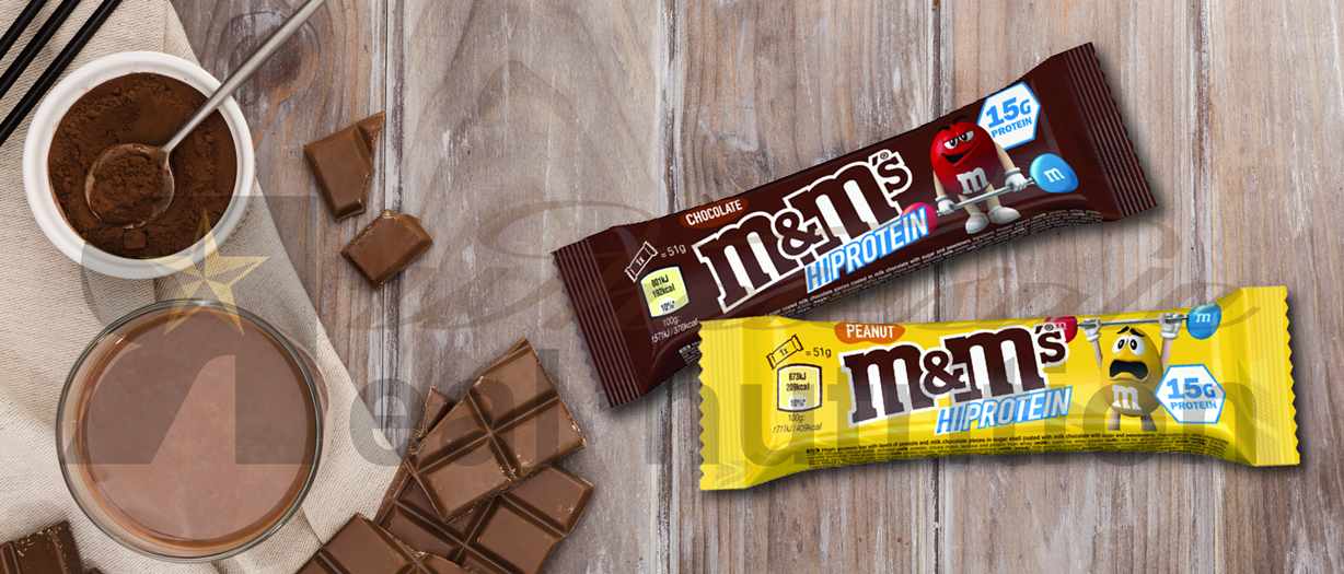 M&M Protein bar - Real Nutrition Shop