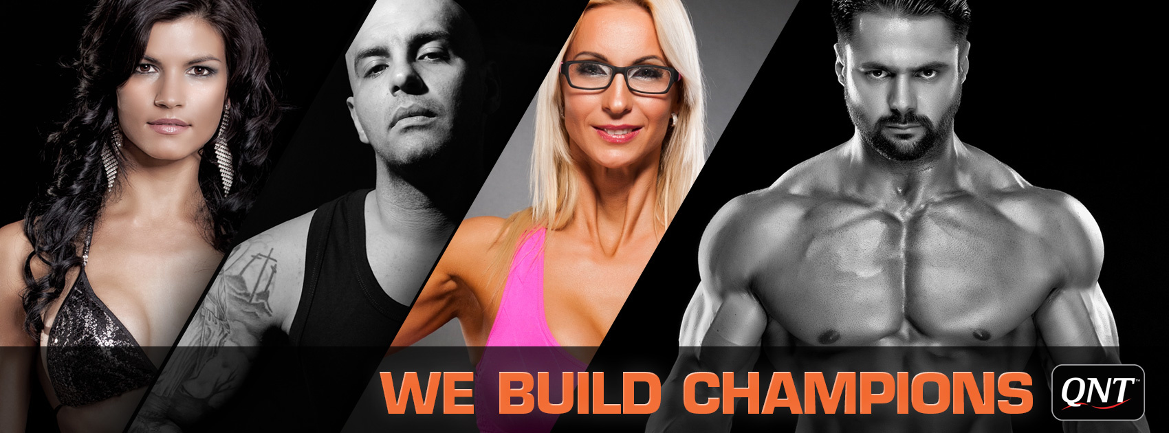 Real Nutrition Shop - QNT Banner - we build champions