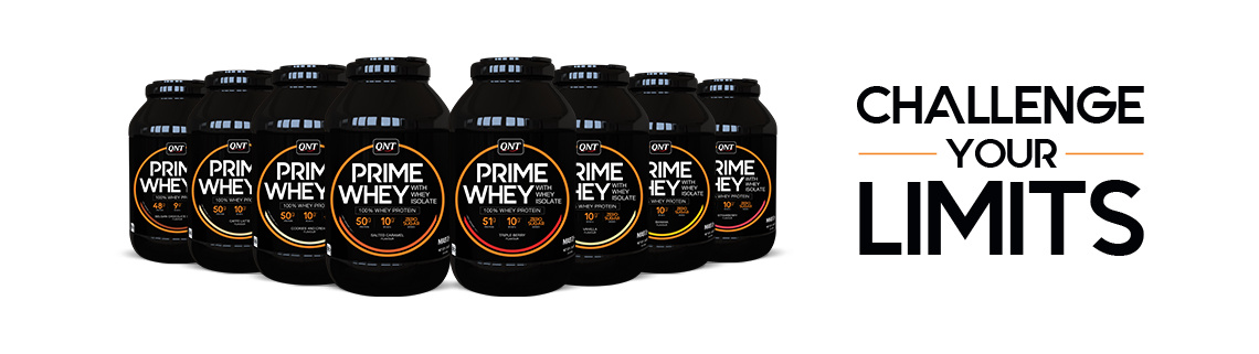 Real Nutrition Shop - QNT Prime Whey - wei eiwit shake