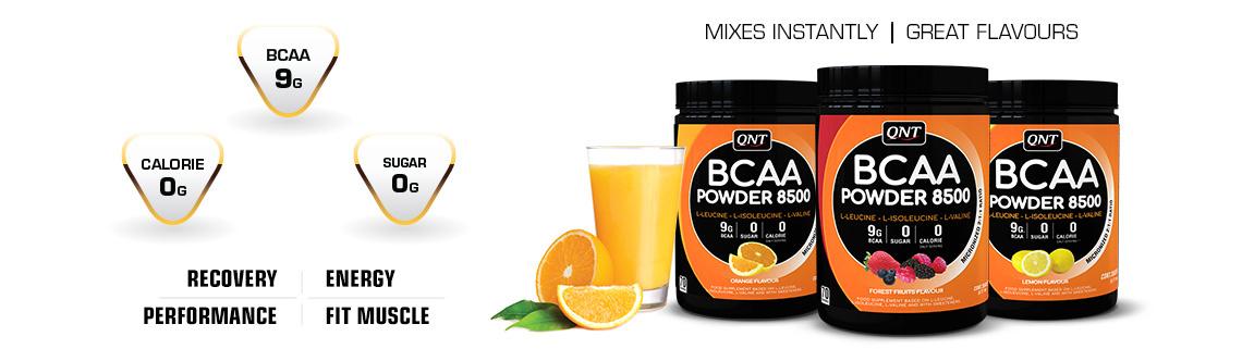 QNT BCAA 8500 Poeder - Real Nutrition Shop