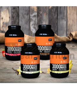 QNT Muscle Mass 3000 (1,3kg)