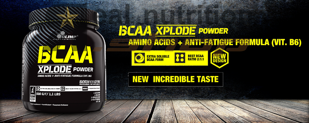 BCAA Xplode - Real Nutrition Shop