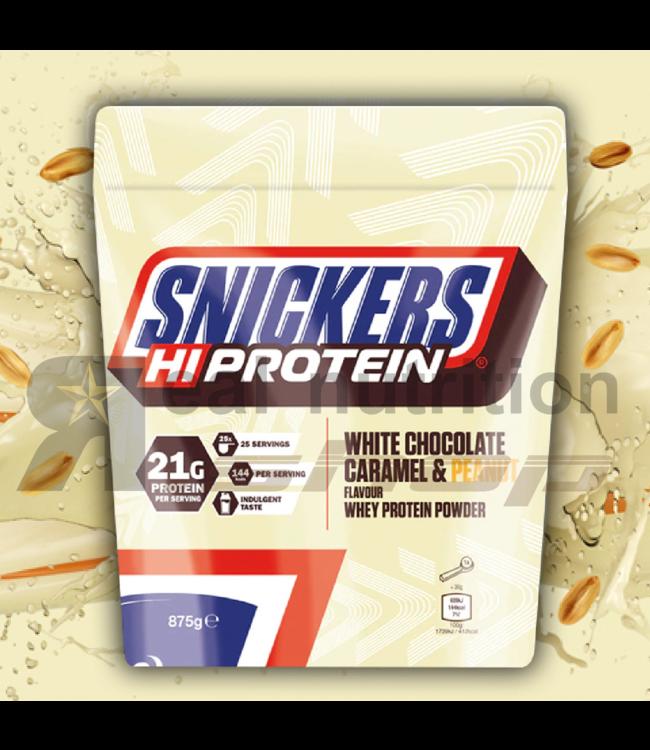 MARS INC. Snickers witte chocolade wei-eiwitpoeder