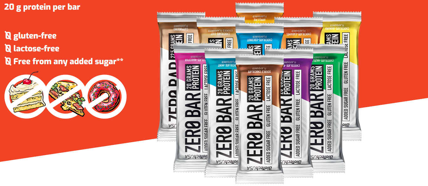 Biotech USA ZERO eiwitreep - Real Nutrition Shop