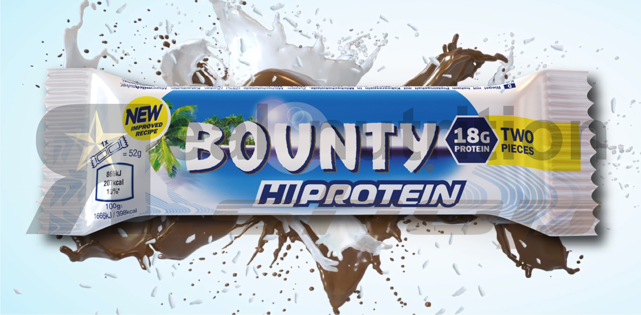 Real Nutrition Shop - Snickers Hi Protein Witte Chocolade