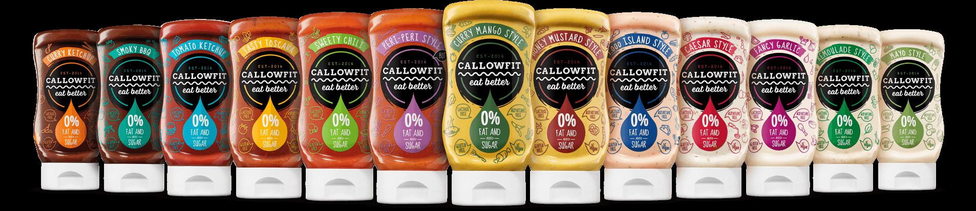 Real Nutrition website banner - callowfit maaltijd saus