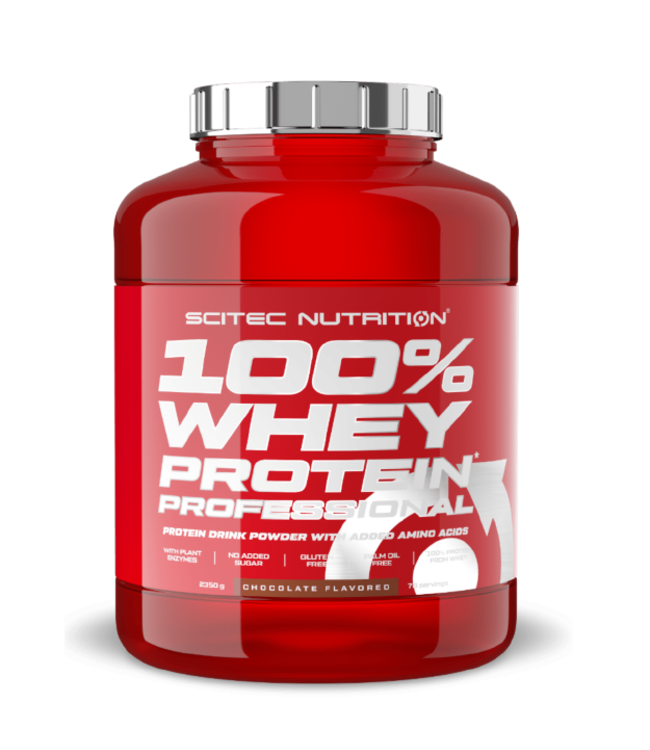 SCITEC NUTRITION 100% Whey Protein Professional (2,35kg)