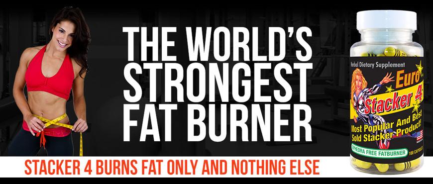 Stacker 2 - Stacker 4 fatburner banner - Real Nutrition