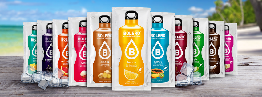 Bolero - suikervrije limonade op het strand - Real nutrition
