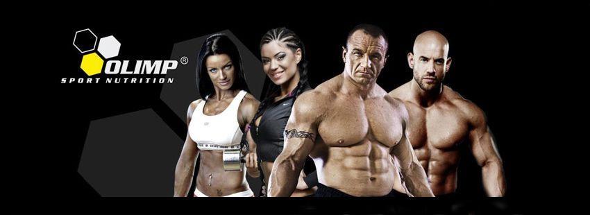 Olimp nutrition - athlete banner - Real Nutrition Shop