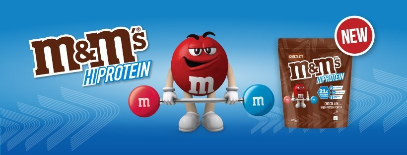 Real Nutrition Shop - M&M's Hi Protein Banner