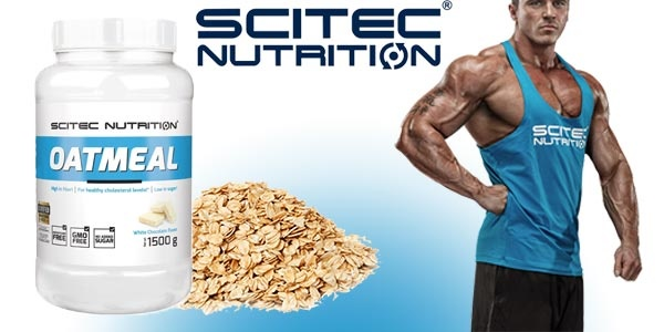 SciTec oatmeal Banner - Real Nutrition Shop