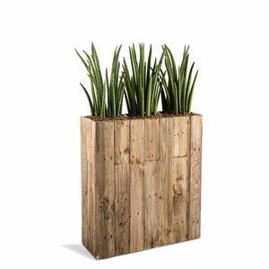 Houten plantenbak Divider maat M