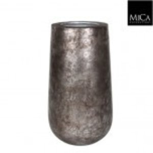 Copa Vaas 75cm Oud Zilver
