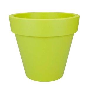 Elho Pure Round 60cm Lime Groen. Elho Pure Bloempotten