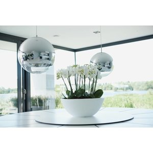 Elho Pure Soft Bowl 50cm Antraciet. Elho Pure Schalen.