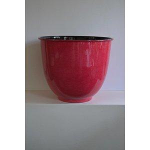 Paris Zinken Bloempot 38cm Rood