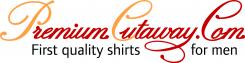 Premium Cutaway, camisas para hombres, 100% algodón con cuello italiano