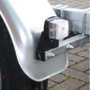 iTrailers Spatbordsteun koker voor geremde trailer