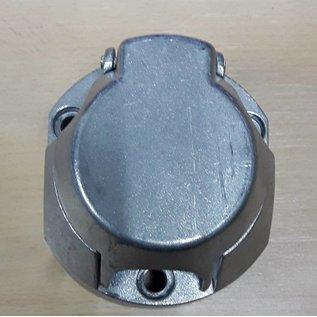 Stekkerdoos 7 polig aluminium