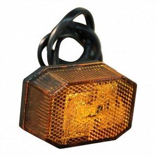 Aspöck flexipoint LED zijmarkering oranje