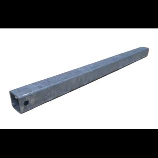 iTrailers Kimrol koker zwaar 40mm x 40mm x 3 -  lengte 650mm