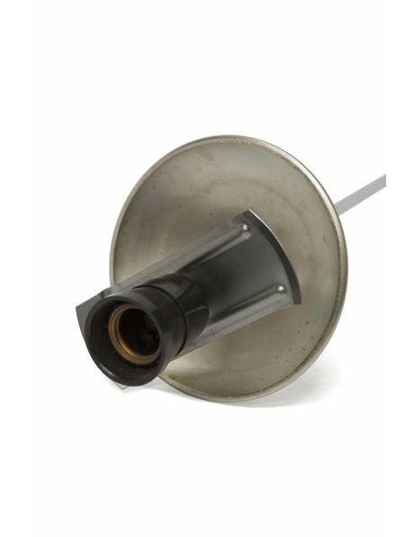 Cover cap, matt silver, 14.5 cm  / 5.7 inch diameter