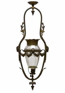 Antique Pendant Lamp, 'Minotaur'