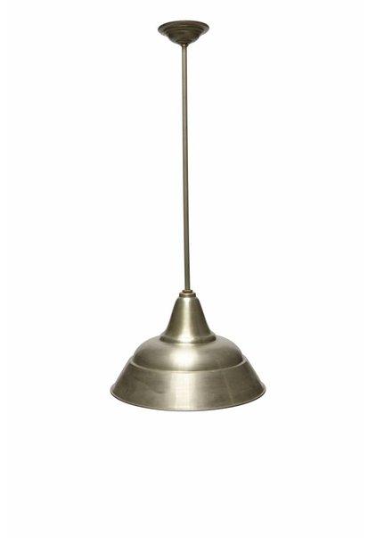 Industriele Lamp, Zilver Kleurige Kap