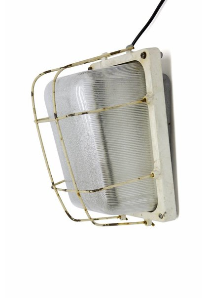 Wall Lamp, Aluminium Frame with Glass