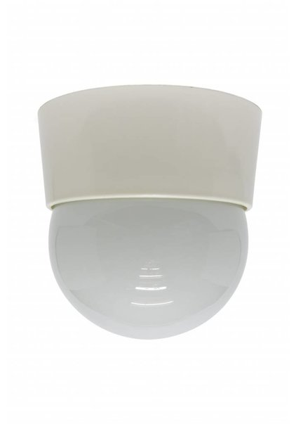 Ceiling Lamp, White Synthetics