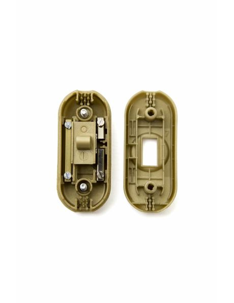 Gold colour on wire switch