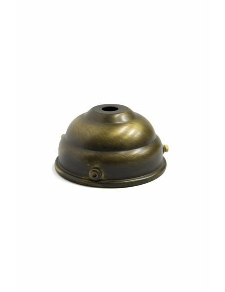 M4 x 1 Nipple, Dark Brown, Brass