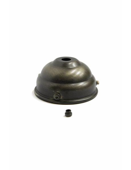 Nipple, M3x1, antique brass