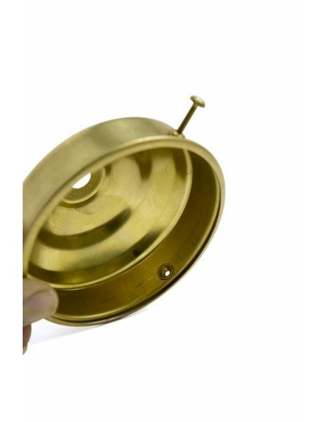 M3x1 nippel, messing, goudkleurig