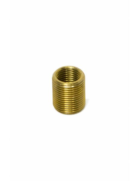 Brass Threaded End, M13x1 external thread, M10x1 internal thread