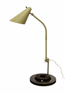 Hala, Zeist Desk lamp, 1950s, Special Model