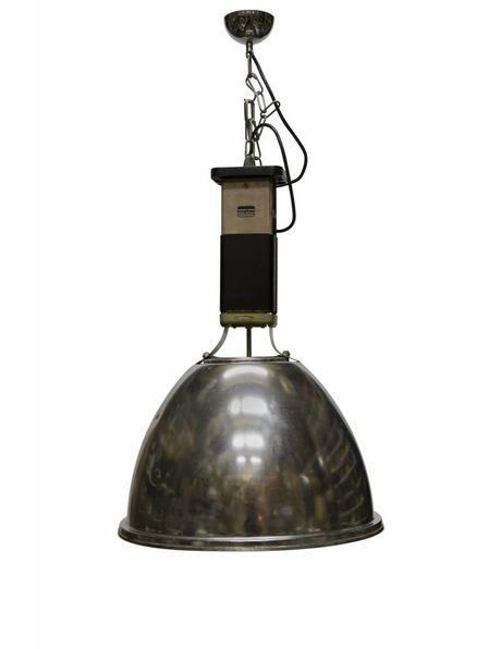 Chromen hanglamp, merk: Europhane, ca. 1950